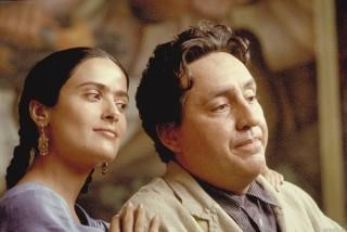 Salma Hayek en Alfred Molina in Frida