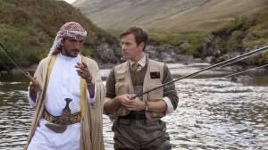 Salmon Fishing in the Yemen: Amr Waked (Sheikh) en Ewan McGregor (Fred Jones)