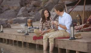 Salmon Fishing in the Yemen: Emily Blunt (Harriet Chetwode-Talbot) en Ewan McGregor (Fred Jones)