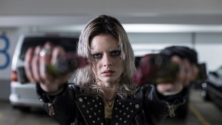 Samara Weaving in Guns Akimbo