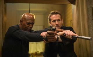 Samuel L. Jackson en Ryan Reynolds in The Hitman's Bodyguard