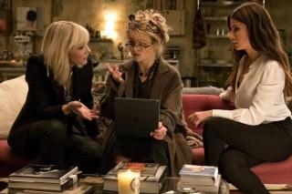 Cate Blanchett, Sandra Bullock en Helena Bonham Carter in Ocean's 8