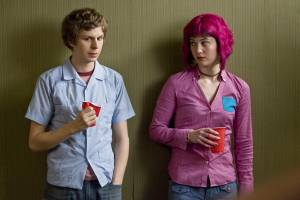 Scott Pilgrim vs. the World: Michael Cera (Scott Pilgrim) en Mary Elizabeth Winstead (Ramona V. Flowers)