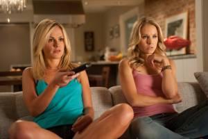 Scream 4: Anna Paquin (Rachel) en Kristen Bell (Chloe)