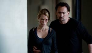 Seeking Justice: January Jones (I) (Laura Gerard) en Nicolas Cage (Will Gerard)