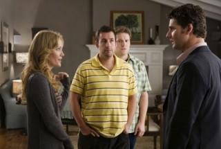 Leslie Mann, Seth Rogen en Adam Sandler in Funny People