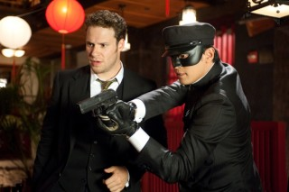 Seth Rogen in The Green Hornet