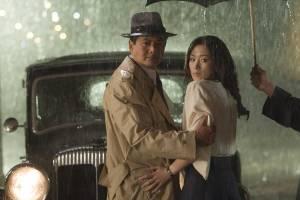 Shanghai: Yun-Fat Chow (Anthony Lan-Ting) en Li Gong (Anna Lan-Ting)