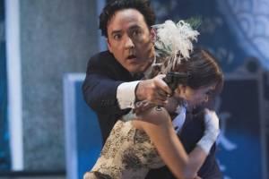 Shanghai: John Cusack (Paul Soames) en Li Gong (Anna Lan-Ting)