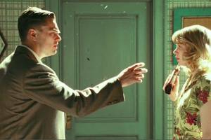 Shutter Island: Leonardo DiCaprio (Teddy Daniels) en Michelle Williams (Dolores Chanal)