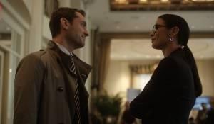 Side Effects: Jude Law (Dr. Jonathan Banks) en Catherine Zeta-Jones (Dr. Victoria Siebert)