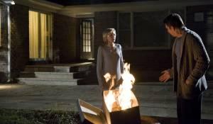 Sinister: Ethan Hawke (Ellison) en Juliet Rylance (Tracy)