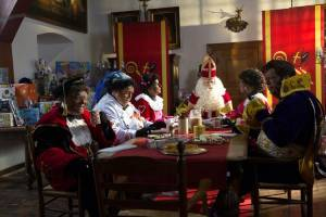 Sinterklaas en de Vlucht door de Lucht filmstill