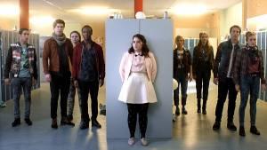 SpangaS in Actie: Ricardo Blei (Abel Brandt), Priscilla Knetemann (Charley Bogaarts) en Hassan Slaby (Eman Loukili)