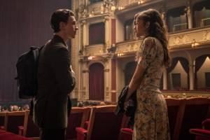 Tom Holland (Peter Parker / Spider-Man) en Zendaya (Michelle Jones)