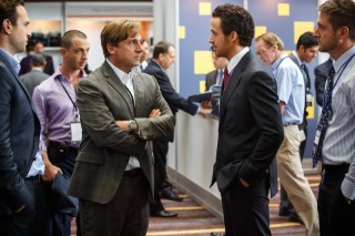 Steve Carell en Ryan Gosling in The Big Short