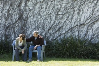Timothée Chalamet en Steve Carell in Beautiful Boy