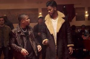 SuperFly: Jason Mitchell (Eddie) en Trevor Jackson (Youngblood Priest)