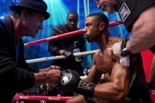 Sylvester Stallone en Michael B. Jordan in Creed II