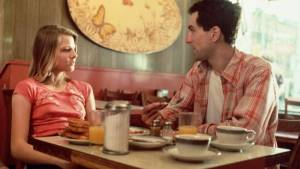 Taxi Driver: Jodie Foster (Iris Steensma) en Robert De Niro (Travis Bickle (as Robert DeNiro))