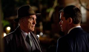 The Adjustment Bureau: Terence Stamp en Matt Damon (David Norris)