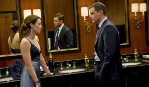 The Adjustment Bureau: Emily Blunt (Elise Sellas) en Matt Damon (David Norris)