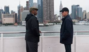 The Adjustment Bureau: Anthony Mackie en Matt Damon (David Norris)