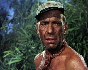 The African Queen: Humphrey Bogart (Charlie Allnut)
