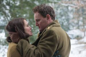The Aftermath: Keira Knightley (Rachael Morgan) en Jason Clarke (Lewis Morgan)
