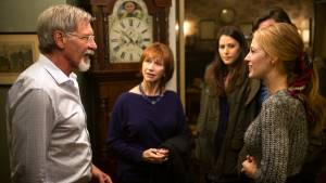 The Age of Adaline: Ellen Burstyn (Flemming), Harrison Ford, Michiel Huisman en Blake Lively (Adaline)