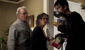 The Amazing Spider-Man: Martin Sheen (Uncle Ben), Sally Field (Aunt May) en Andrew Garfield (Spider-Man / Peter Parker)