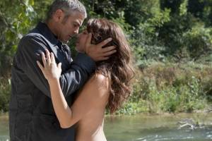 The American: George Clooney (Jack) en Violante Placido (Clara)