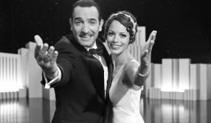 The Artist: Jean Dujardin (George Valentin) en Berenice Bejo (Peppy Miller)