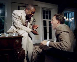 The Bad Lieutenant: Port of Call - New Orleans: Xzibit (Big Fate) en Nicolas Cage (Terence McDonagh)