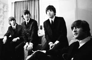 The Beatles: Eight Days a Week - The Touring Years: George Harrison (Zichzelf (archive footage)), Ringo Starr (Zichzelf (archive footage)), Paul McCartney (Zichzelf (archive footage)) en John Lennon (Zichzelf (archive footage))