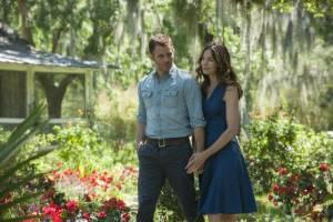 The Best of Me: James Marsden (Dawson Cole) en Michelle Monaghan (Amanda Collier)