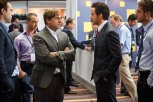The Big Short: Steve Carell (Steve Eisman) en Ryan Gosling (Greg Lippmann)