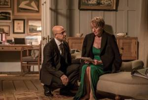 The Children Act: Stanley Tucci (Jack) en Emma Thompson (Fiona Maye)