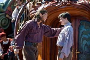 The Chronicles of Narnia: The Voyage of the Dawn Treader: Ben Barnes (King Caspian) en Skandar Keynes (Edmund Pevensie)