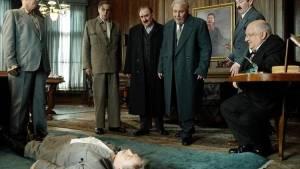 The Death of Stalin: Steve Buscemi (Nikita Khrushchev) en Jeffrey Tambor (Georgy Malenkov)