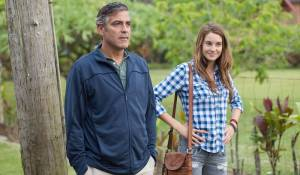The Descendants: George Clooney (Matt King) en Shailene Woodley (Alexandra)