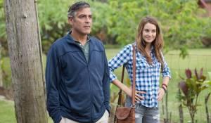 George Clooney (Matt King) en Shailene Woodley (Alexandra)