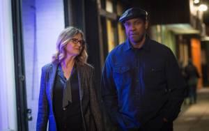 The Equalizer 2: Melissa Leo (Susan Plummer) en Denzel Washington (Robert McCall)