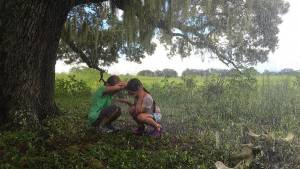 The Florida Project: Brooklynn Prince (Moonee) en Valeria Cotto (Jancey)