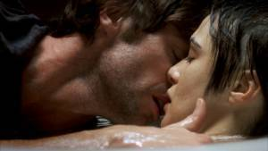Hugh Jackman en Rachel Weisz in The Fountain