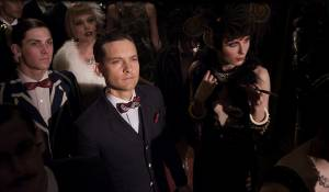 The Great Gatsby: Tobey Maguire (Nick Carraway) en Carey Mulligan (Daisy Buchanan)