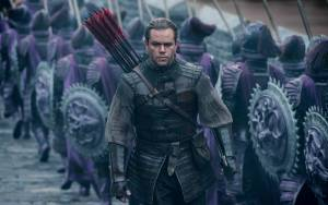 The Great Wall: Matt Damon