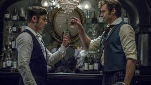 The Greatest Showman: Zac Efron (Phillip) en Hugh Jackman (P.T. Barnum)