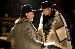 The Hateful Eight: Kurt Russell (John Ruth) en James Parks (O.B Jackson)