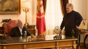 The Hunger Games: Catching Fire: Donald Sutherland (President Snow)